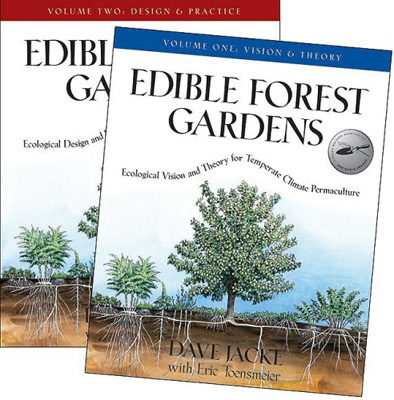Edible Forest Gardens: Vision, Theory, Design and Practice for Temperate Climate Permaculture.